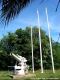Gaan Point - Japanese shore defense guns.