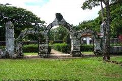 Plaza de Espana - Spanish Governor's 18th Centure Palace in Hagatna, Guam.