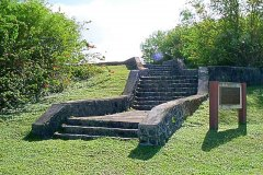 POW Steps - Built by Japanese WWII prisoners on Guam Naval Station to keep them busy.