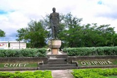 Chief Quiphua - Chief of Hagatna welcomed the Spanish in 1668, converted to Catholicism, donated the land and labor to build the 1st Catholic Church on Guam (Dulce Nombre de Maria).